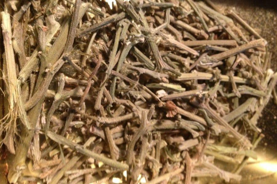 A Pile of Cannabis Stems