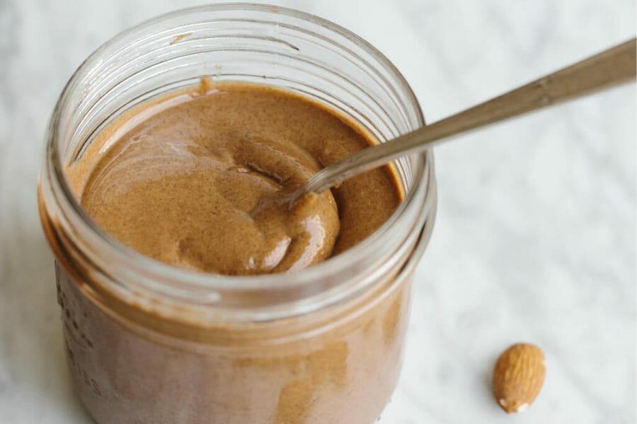 Almond Nut Butter In Jar