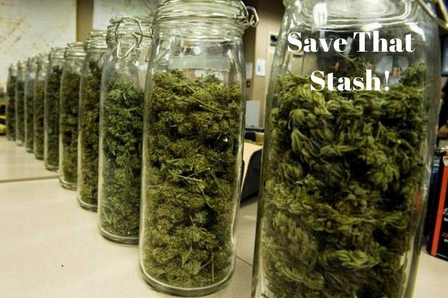 Save That Cannabis Stash in Jars
