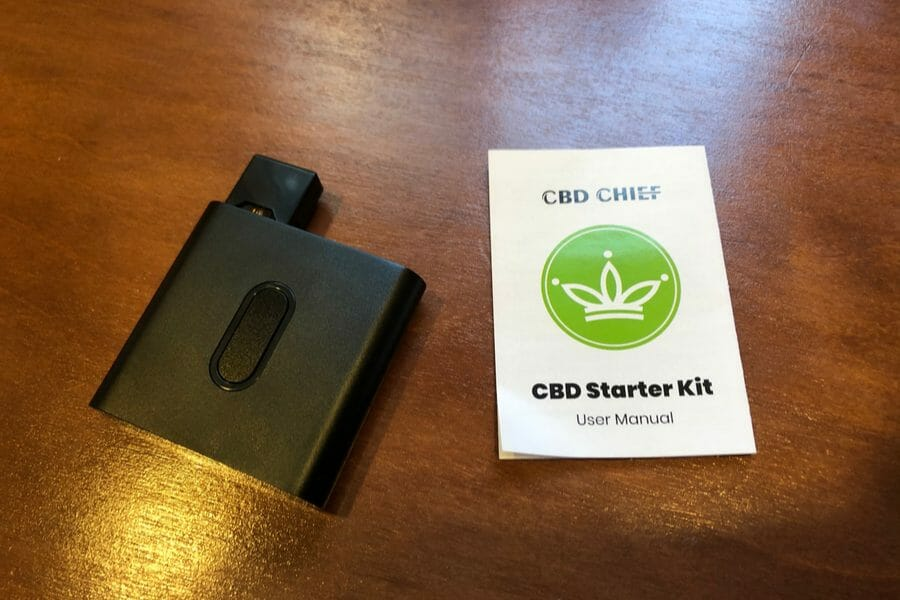 CBD Chief Starter Kit With Manual