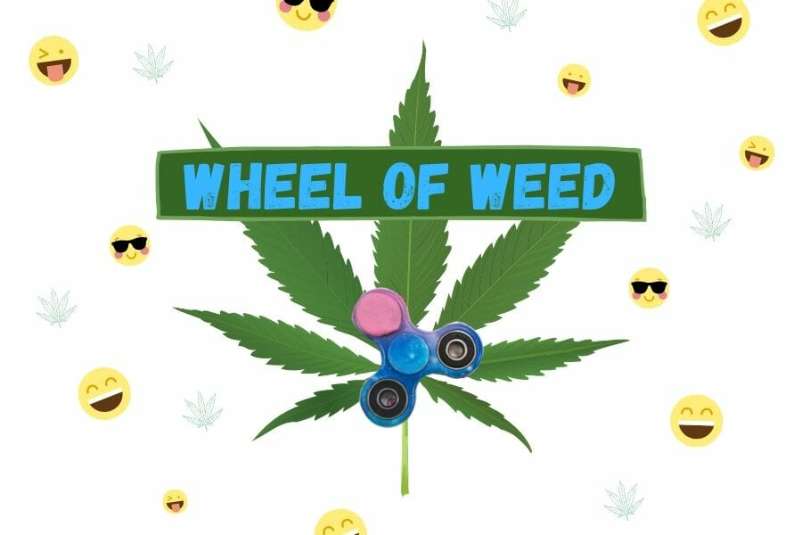 Wheel of Weed Cover