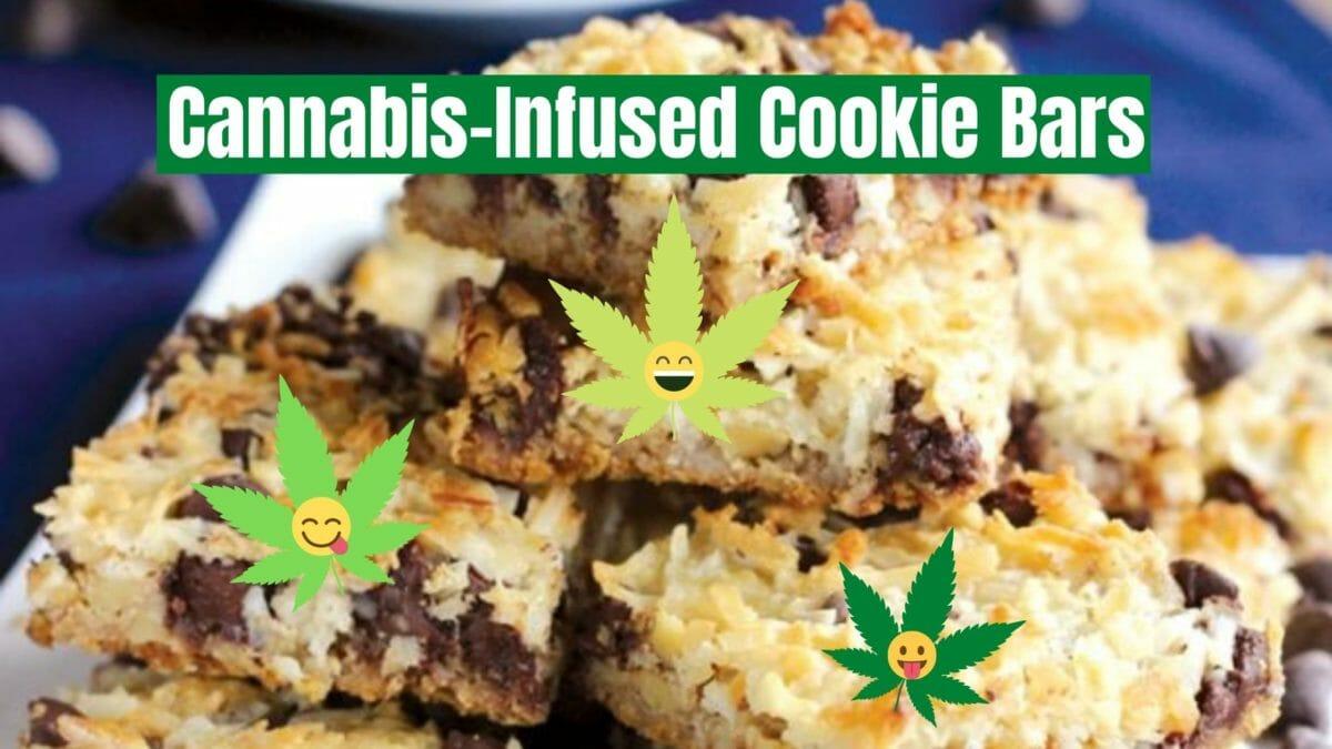 Cannabis Cookie Bars