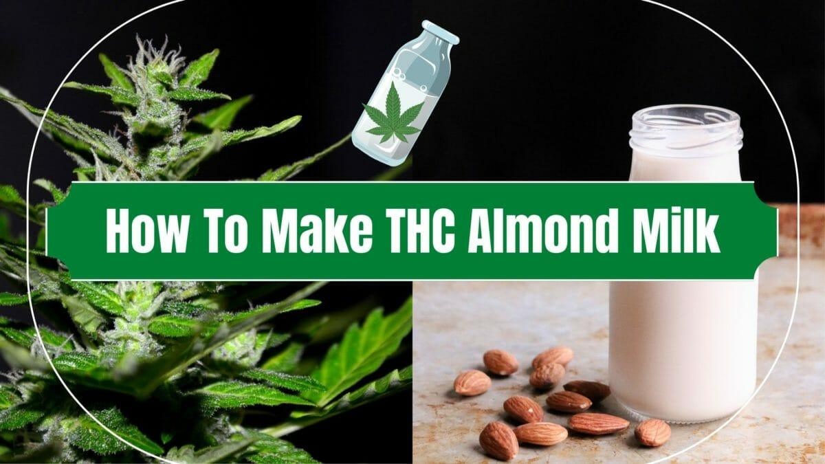 Cannabis Almond Milk